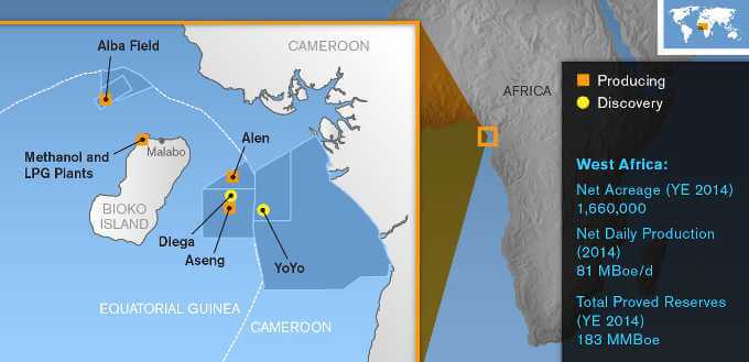 Noble Energy's investments in West Africa