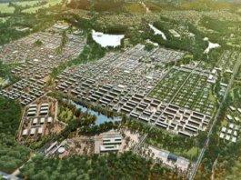 Oyala es una ciudad diseñada para ser la futura capital de Guinea Ecuatorial