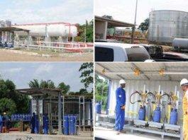 Nueva planta envasadora de Gas domestico en Punta Europa, Malabo (Guinea Ecuatorial).