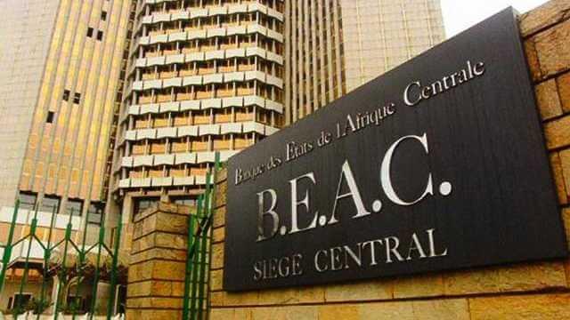 Sede del BEAC (Banco de los Estados de África Central) en Yaoundé , Camerún