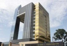 Sede de la Tesorería General de Guinea Ecuatorial