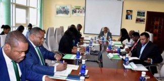 Reunión del Consejo de Administración del Banco Nacional de Guinea Ecuatorial - BANGE