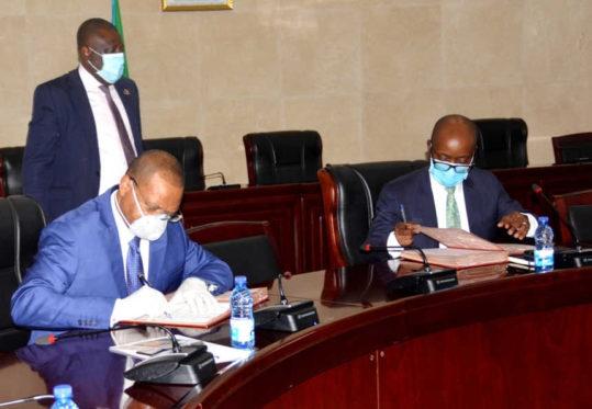 BDEAC y Guinea Ecuatorial firman un acuerdo de préstamo de 80 mil millones de FCFA para la financiación de la central hidroeléctrica Sendje
