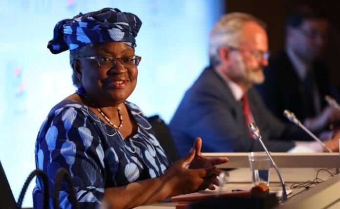 Imagen de archivo del 15 de julio de 2020 de Ngozi Okonjo-Iweala asistiendo a una conferencia de prensa, en Ginebra, Suiza