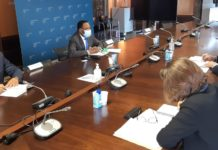 Encuentro entre Miguel Edjang Angue y el Director General de la AECID