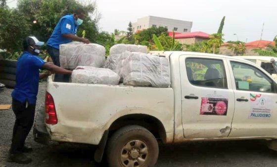 El programa Bioko Island Malaria Elimination Project (BIMEP) envía ayuda medica a Bata